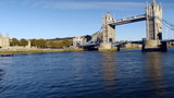 Tower Bridge timelapse panorama.