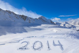 2014 on snow at mountains