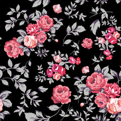 Rose Seamless Pattern