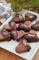 Schokoladen Herzen