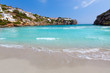 Cala en Porter beautiful beach in menorca at Balearics