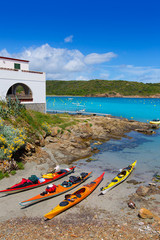 Menorca Es Grau kayak adventure in Balearic Islands