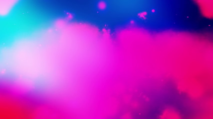 Cosmic Cloud Abstract Looping Animated Background