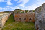 Menorca La Mola Castle fortress in Mahon at Balearics poster