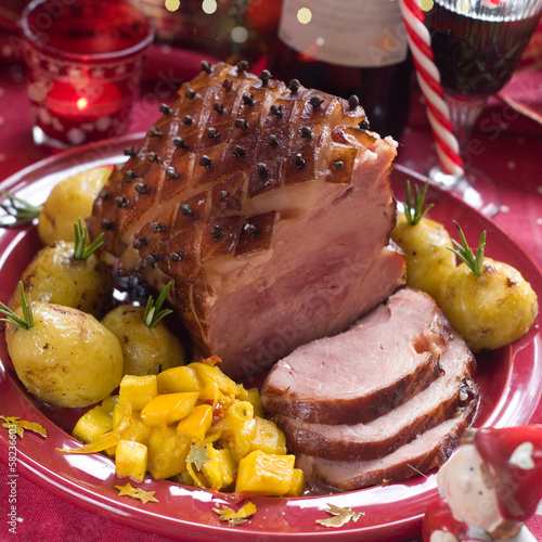 Christmas meat