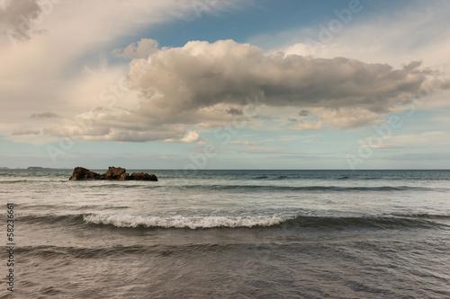 clouds formation above ocean waves © Patrik Stedrak