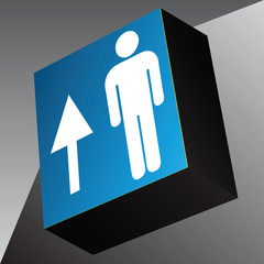 Information cube Travel direction