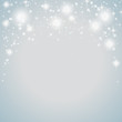 Snow Stars Background