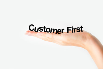 Customer first concept