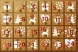 Advent calendar - 58240832