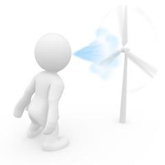 Windenergie die treibende Kraaft