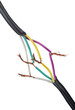 Connection electrical cable