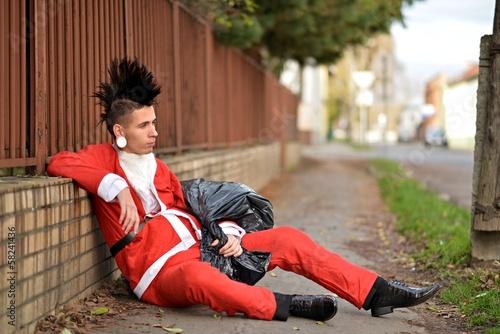 Père Noël Punk