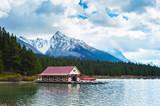 Maligne Lake, Jasper National Park, Jasper, poster