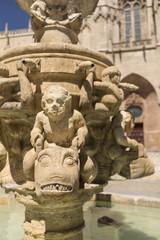 fontaine à Burgos