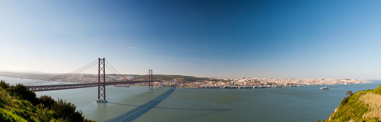 Portugal, Lisbon, bridge
