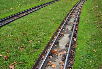 Schmalspurbahn Schienen