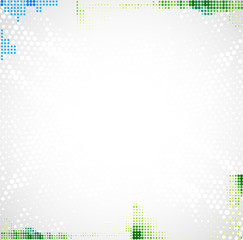 Abstract dotted background for your business