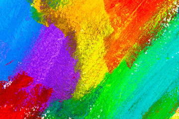 Abstract acrylic colors