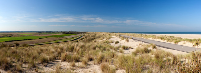Ouddorp Beach Panorama