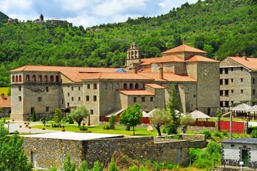 Virgen del Carmen Monastery in Boltanya, Huesca, Spain