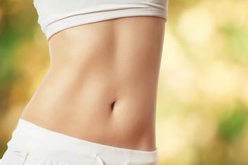trainierter Bauch - gesund leben