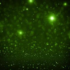 Dunkelgrüner Hintergrund festlich