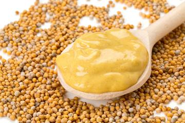 mustard and mustard seeds