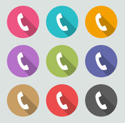 Phone icon - Flat designs