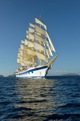 Sailing ship. Series sailboats world