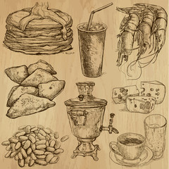 Food and Drinks around the World (set no. 6)