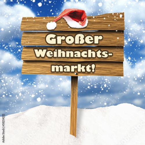 Großer Weihnachtsmarkt!