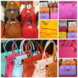 colorful leather handbags collection