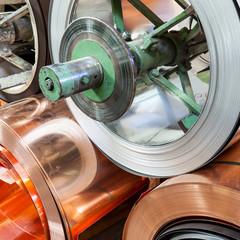 bobine di metallo per lattoneria