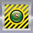 Alarm schwarz gelb gruen safe 2