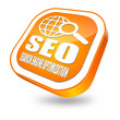 SEO button orange
