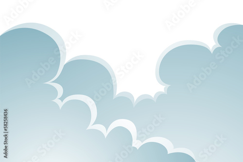 Puffy Clouds Cartoon