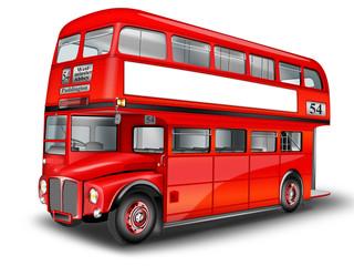 Britischer Doppelstockbus