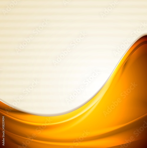 Bright smooth iridescent waves design