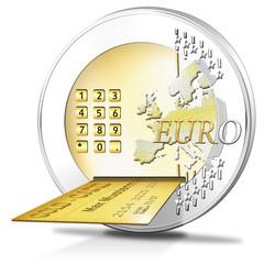 Euromünze, Onlinebanking