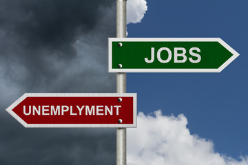 Jobs versus Unemployment