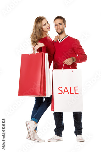 shopping pair