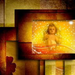 Christmas card Baby Jesus