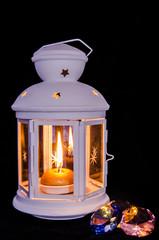 lanterna con candela