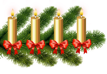 Adventsgesteck 4. Advent