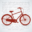 Vintage Retro Bicycle Background