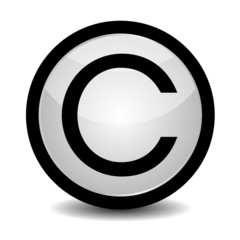 Copyright button - icon