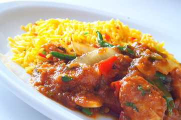 indian jalfrezzi curry