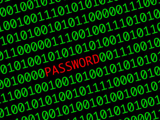 mot de passe - password