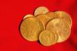 Golden coins collection